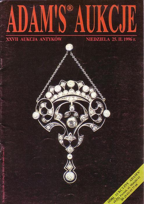 Katalog aukcyjny - antyki w poznaniu